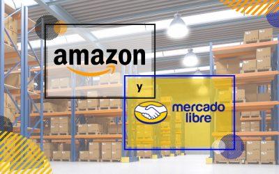 Almacenes de Amazon y Mercado Libre en México